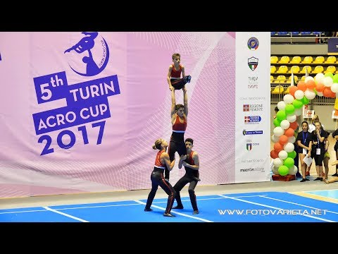 5TH  TURIN ACRO CUP 2017 Acrobatic Gymnastics, Day Two - Finals (6)