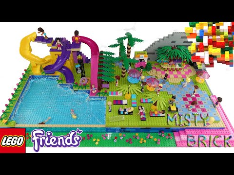Lego Friends Water Park 2 with Slide by Misty Brick.