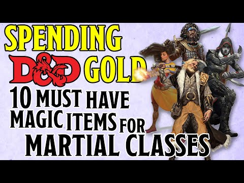 10 Best Cheap Magic Items For Martial Classes In Dungeons And Dragons 5e