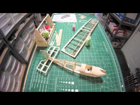 Pietenpol AirCamper 100 by Stevens AeroModel Time Lapse Build