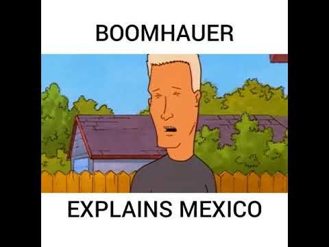 Boomhauer talks Mexico