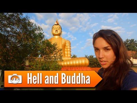 Sri Lanka 16: HELL AND BUDDHA (Wewurukannala Vihara)