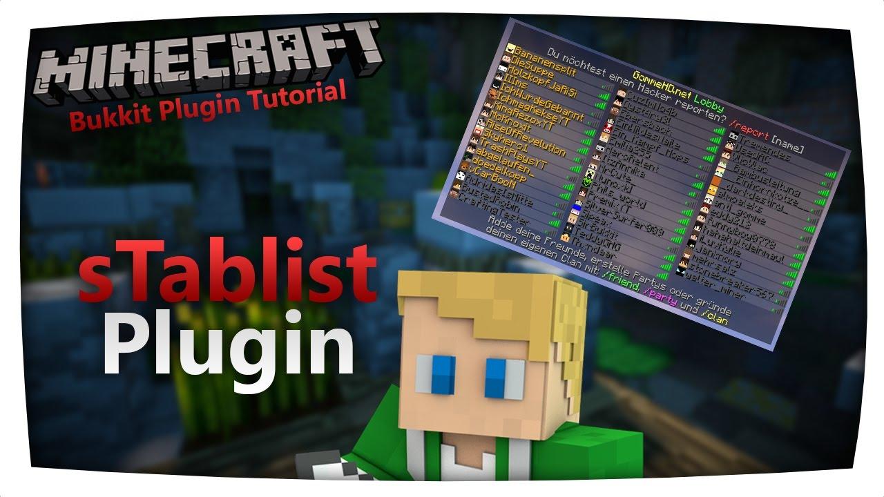 Tablist Plugin + Tablist Prefix | Bukkit / Spigot 1 7 10 - 1 12 | SirBukkit