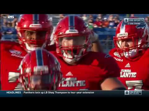 2019 Ryan C-USA Football Championship Game - Highlights (CBS Sports Network)