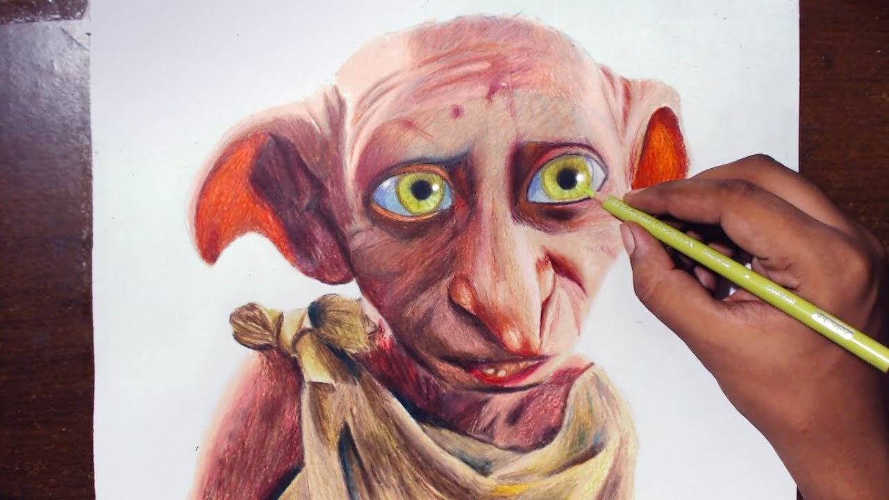 Harry Potter Coloring Book Colored Dobby Lego Harry Potter Albus