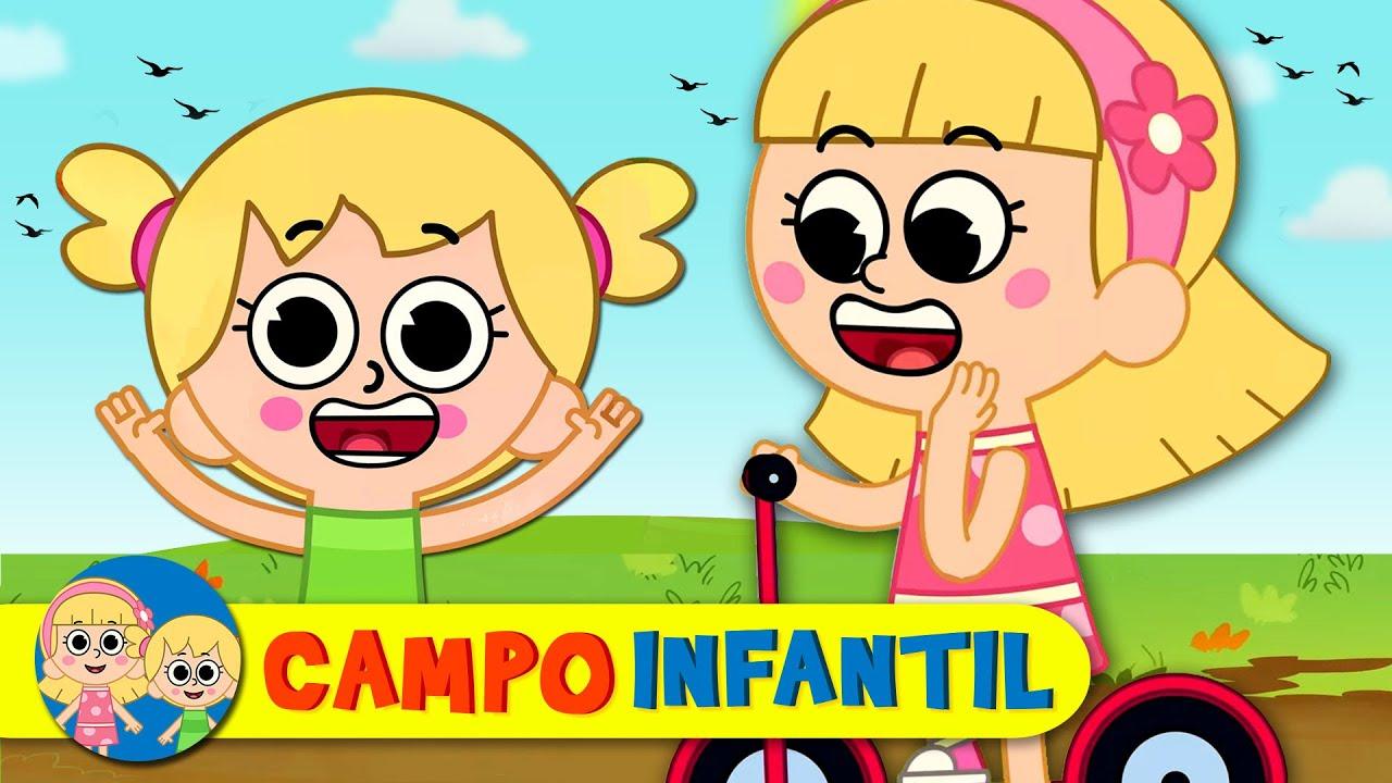 Por la bahía - Canta, juega y aprende con Elly y Eva | Campo Infantil