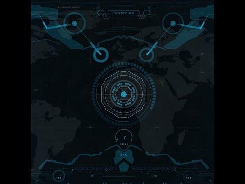 ⭐ Живые обои Cyber HUD Ⅱ 1080p 60fps | Скачать | На рабочий стол | SCI-FI, Киберпанк, Технологии ⭐