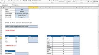 Les Fonctions Textes dans Excel