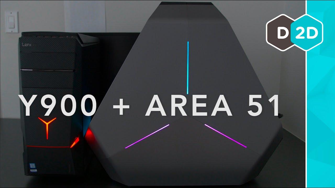 Gaming PCs: Lenovo Ideacentre Y900 + Alienware Area-51