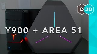 Video Gaming PCs: Lenovo Ideacentre Y900 + Alienware Area-51 download MP3, 3GP, MP4, WEBM, AVI, FLV Juni 2018