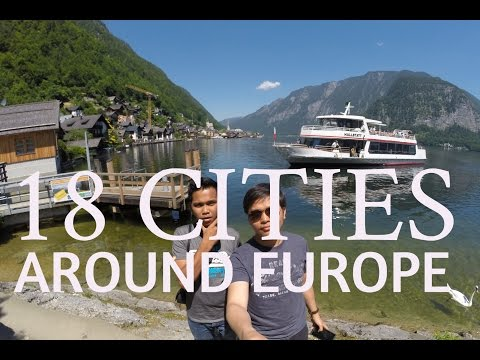 Backpacking 18 Cities in Europe | GoPRO H3+ and SJ4000 [HD]