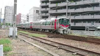 JR西日本 227系8両編成&115系L-14編成 新白島〜広島