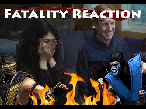 Parents React To Mortal Kombat X Fatalities!