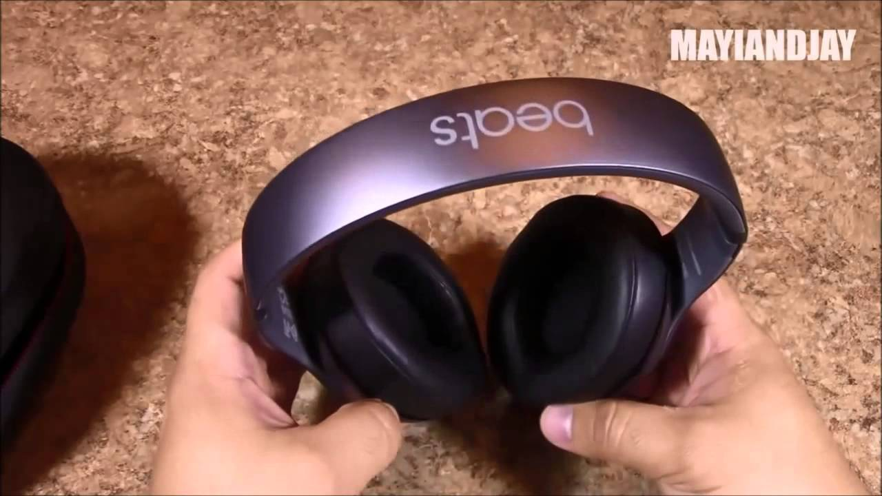Unboxing Replica Beats By Dr Dre Studio V2 Wireless Headphone Platinum Grey Review