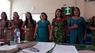 Raise me up (cover versi batak) - Vocal Grup Ina Mayang HKBP Jambi