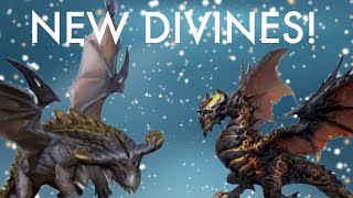 War Dragons: New WinterJol Divine Dragon Reveal! Mythic Sorcerer Looks Awesome!