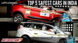 Top 5 Safest Cars in India | Hindi | MotorOctane