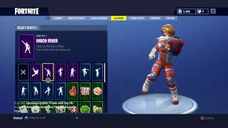 Fortnite-Shows all my skins and everything else