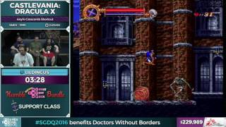 Castlevania: Dracula X by lildingus in 0:19:53 - SGDQ2016 - Part 56