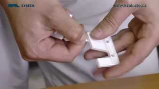 Video návod - Jak namontovat žaluzie na okna (návod na montáž)