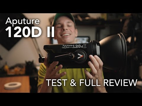 Aputure 120D II Test And Full Review