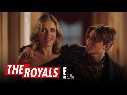 "Elizabeth Hurley's Son Makes Another Cameo on ""The Royals"" 
