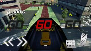 Clio Car City Simulation - Sports Car Stunts Games - Android Gameplay FHD #5