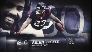 #80 Arian Foster (RB, Texans) | Top 100 Players of 2015