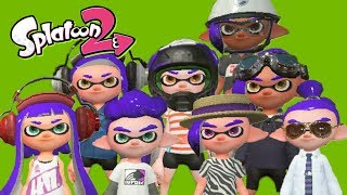8 Splatoon YouTubers Join the Same Game. What Happens Next Will SHOCK You!
