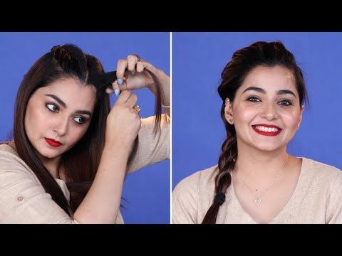5 Minutes DIY Hairstyle For Office In Hindi | Everyday Simple Hairstyle For Work | Be Beautiful
