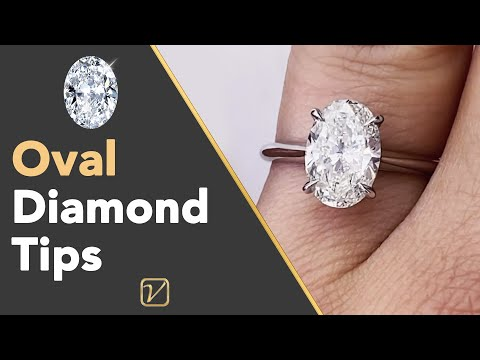 Oval Cut Diamond Buying Tips | Important Tips When Buying An Oval Cut Diamond Engagement Ring