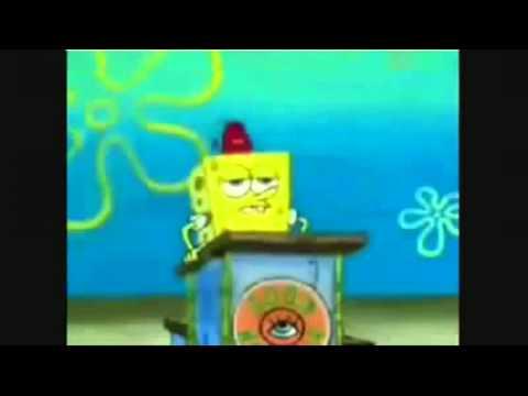 SpongeBob SquarePants/Satanic All Seeing Eye of Horus/ Illuminati brainwashing children in cartoons!