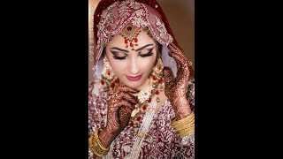 Latest bridal makeup up and  jewellery outfits collection design 2019