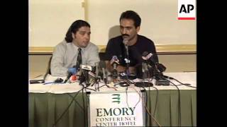 USA: ATLANTA: IRAQI DEFECTOR FEARS FOR FAMILY