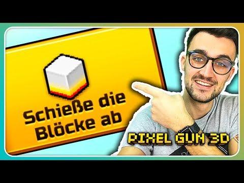 Beste Waffe für Schieße die Blöcke ab? | Pixel Gun 3D [Deutsch]