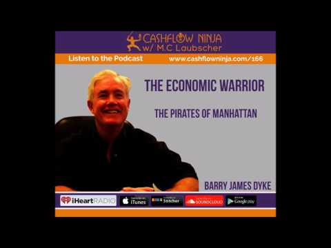 166: Barry James Dyke: The Pirates Of Manhattan