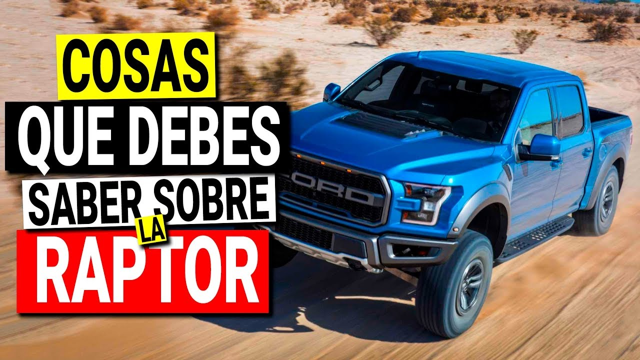 Ford Raptor 2020 Cosas Que Debes Saber Youtube