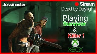 🔴DBD ON XBOX ONE !🔴 !! LETS HAVE SOME FUN AND SURVIVE COME JOIN IN🔪 !! WITH FACE CAM !!!🔪