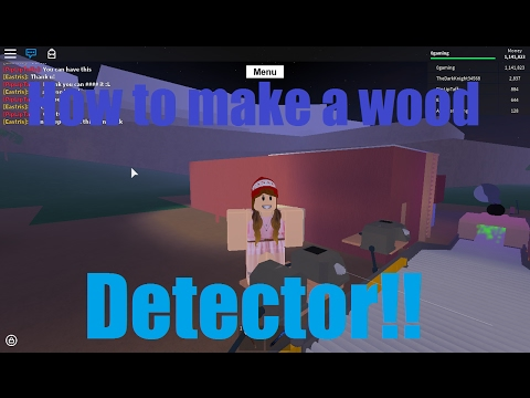How to Make a Wood Detector!! - Lumber Tycoon 2
