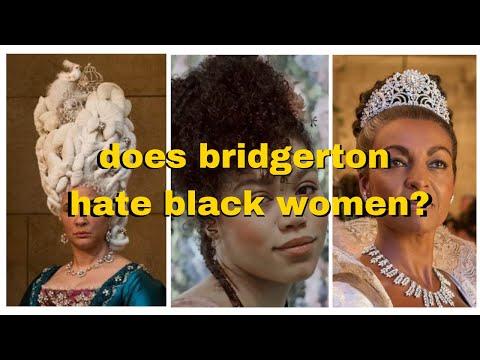 Black girl reviews Bridgerton while making a Regency bag | Colourism, race baiting and misogynoir