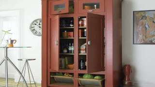 I created this video with the YouTube Slideshow Creator and content image about Corner Kitchen Pantry Cabinet, pantry storage ,