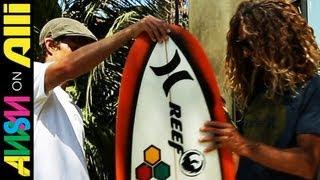 Awsm On Alli Ep. 38 | Rob Machado's Surf Sticks, Nixon X Plan B Gear + Top 5