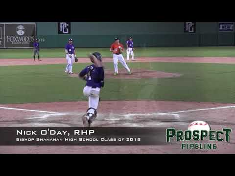 Nick O'Day Prospect Video, RHP, Bishop Shanahan High School Class of 2018