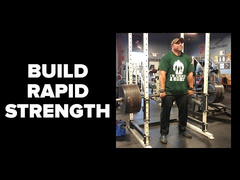 How to Build Strength Rapidly and Safely