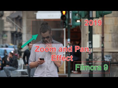 How to Zoom and Pan Filmora 9| Tips   Tricks