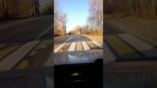 Авария на дороге Порхов-Псков :) возле поворота на сосновый-бор