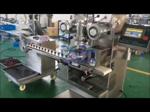 Automatic energy ball/energy bites making machine testing for Saudi Arabia customer