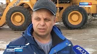 Как в Алтайском крае готовятся к предстоящему паводку?
