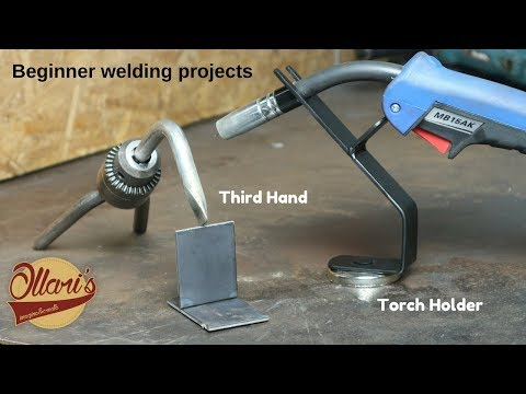 Every welder needs these! Beginner welding projects