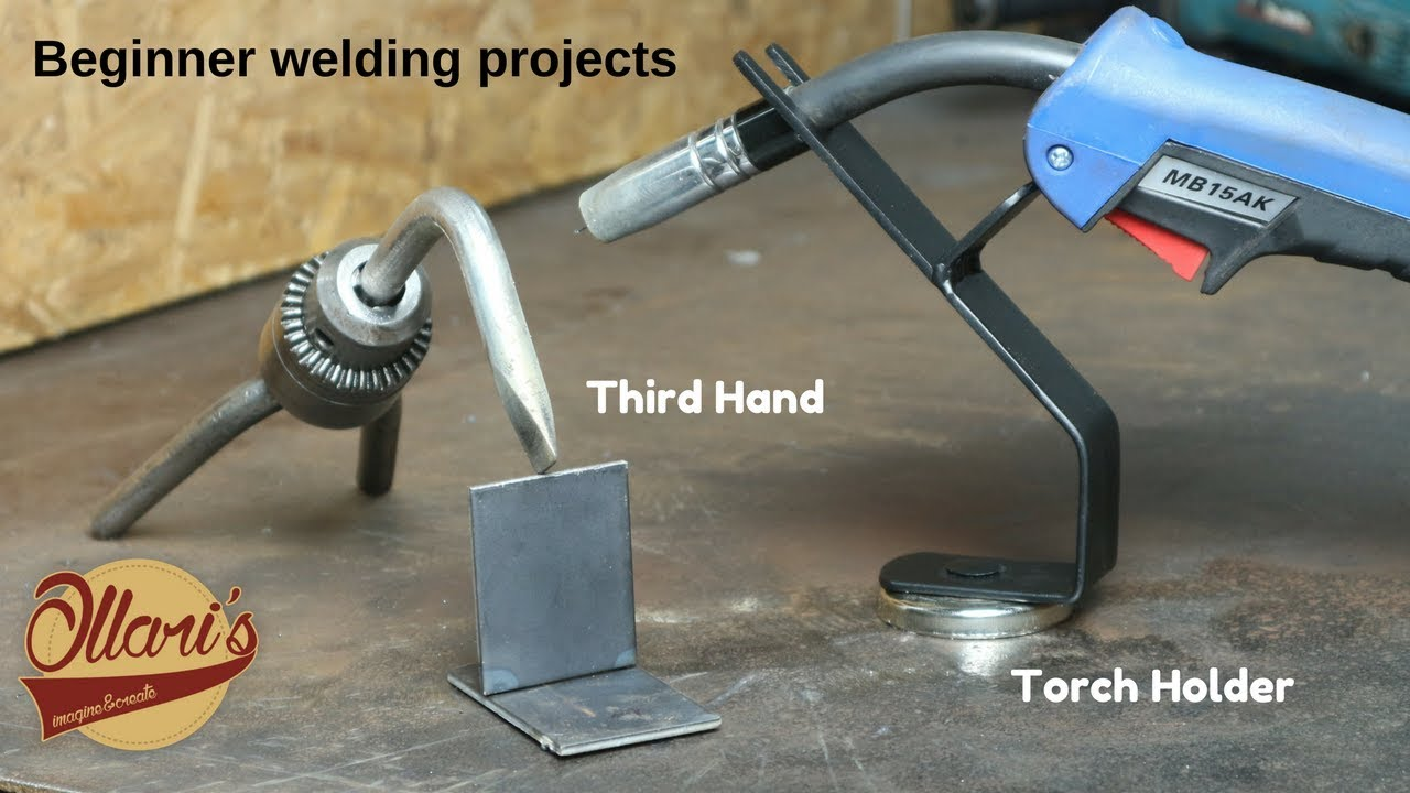 Every welder needs these beginner welding projects youtube every welder needs these beginner welding projects solutioingenieria Image collections
